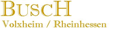 Weingut Busch GbR